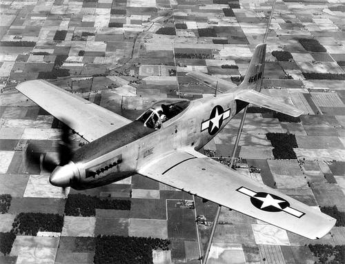 Bubble canopy P-51 Mustang