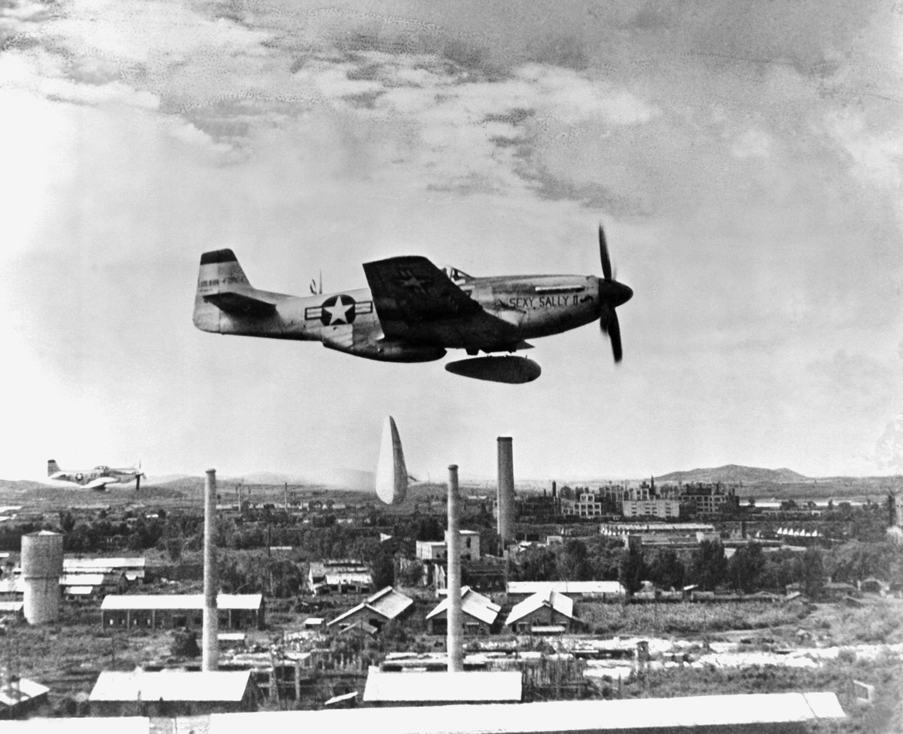 F-51 Mustang of the U.S. Fifth Air Force's