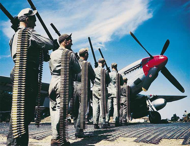 Arm P-51 with M2 Machine guns