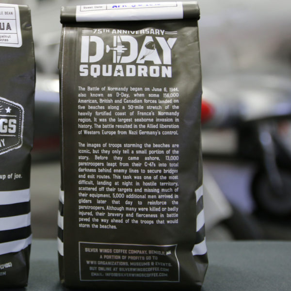 D-Day Squadron coffee bag