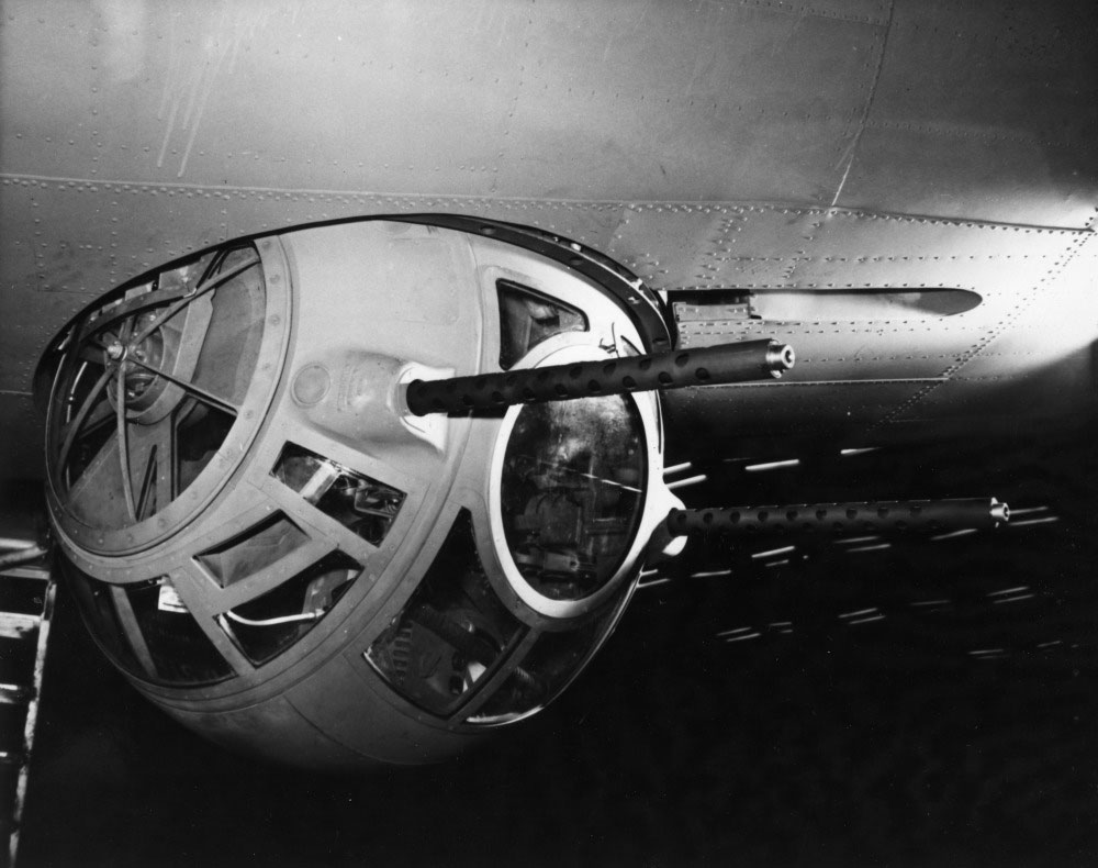 Briggs Sperry Ball Turret in a B-17