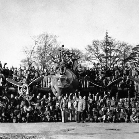 Berlin First B-17 Crew