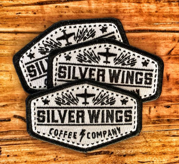 Silver Wings Coffee Patch