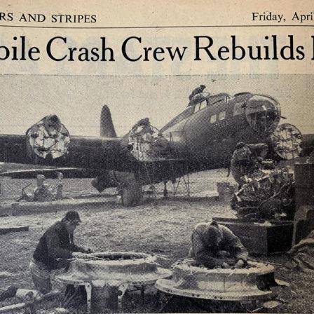 Flying Fortress crash