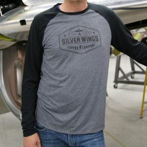 Raglan men's shirt