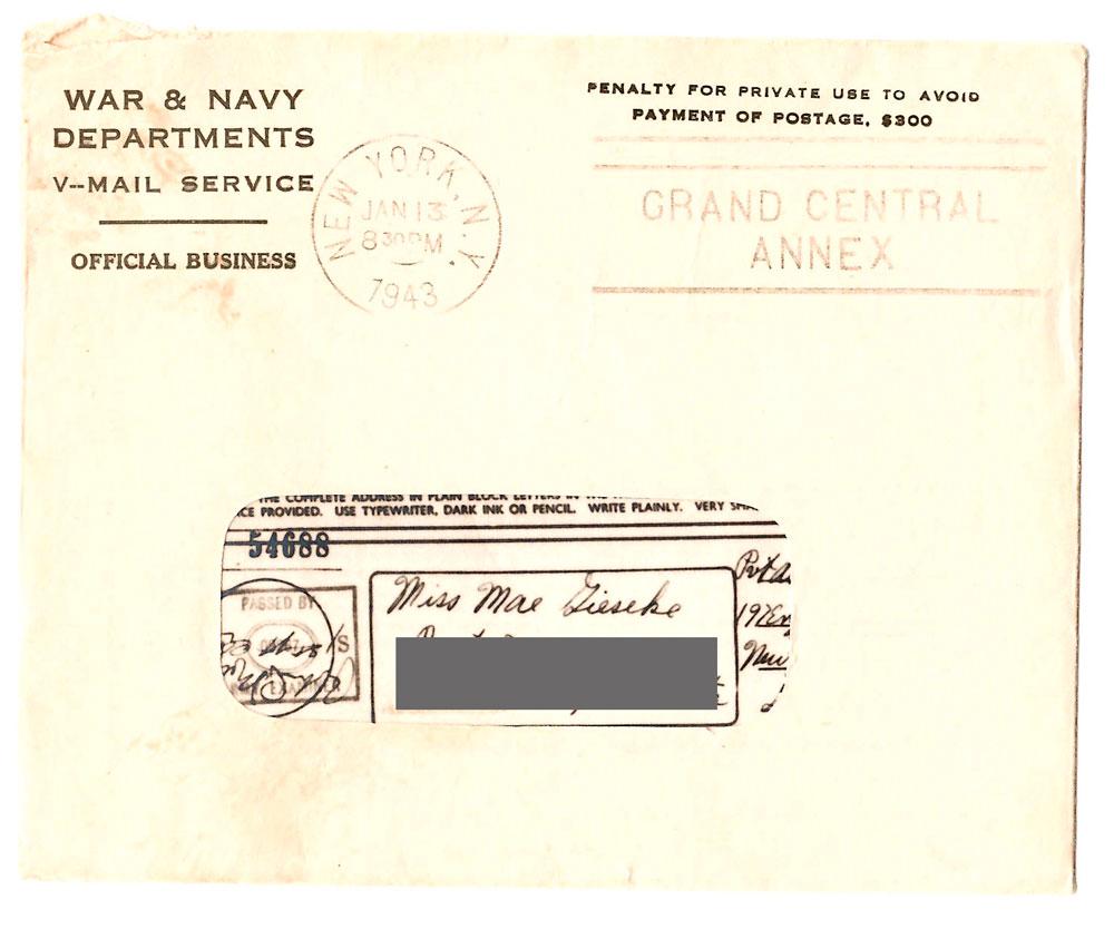 Vmail in World War II